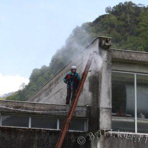Nettoyage du site avant travaux