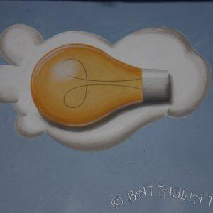 Détail du nuage ampoule