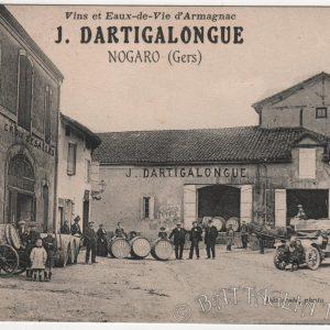 À l'origine du projet : une carte postale ancienne reprénsentant l'entreprise