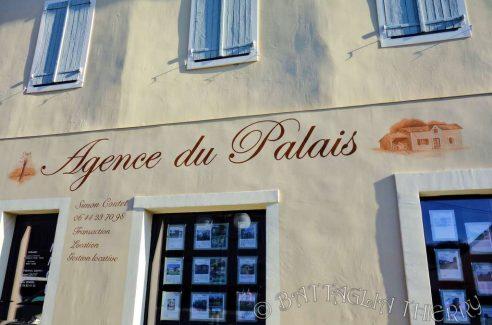Enseigne Agence du Palais